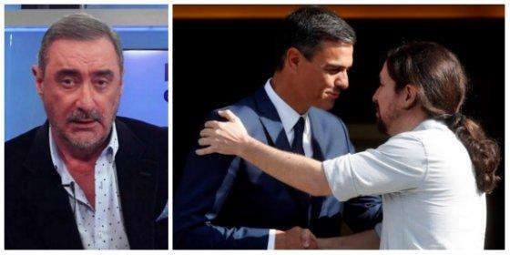 """Herrera se teme lo peor tras la reunión entre los """"sectarios"""" Sánchez e Iglesias: """"Con estos dos siempre sube el pan"""""""