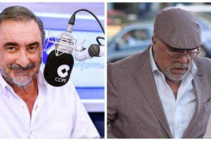 """Carlos Herrera admite que también se vio con Villarejo: """"Grababa todo y era una persona muy agradable"""""""