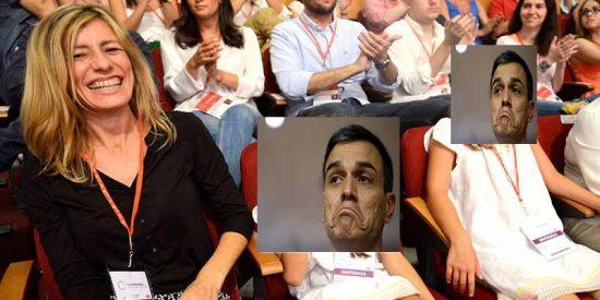 Pedro Sánchez utiliza sin pudor a sus hijas pequeñas en un intento desesperado por cerrar la crisis