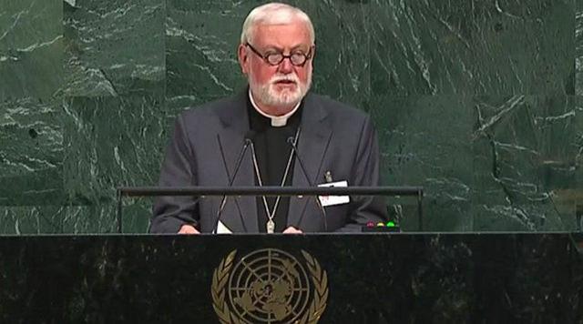 Mons. Gallagher: Abolición de la Pena de muerte e igualdad para todos