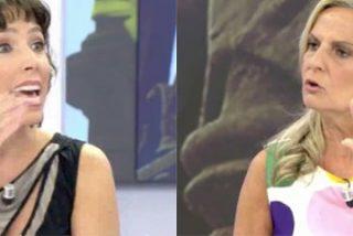 """Isabel San Sebastián cruje a la atacante de los que quitan basura amarilla en Cataluña: """"¡Lo que dices es absurdo!"""""""