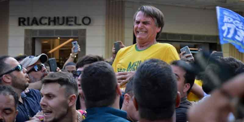 La CIDH condena 'vía online' el atentado contra el candidato derechista Jair Bolsonaro