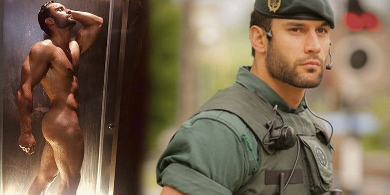Guardia Civil: ¿Todavía no has visto el desnudo integral de Jorge Pérez, el agente que calienta las redes?