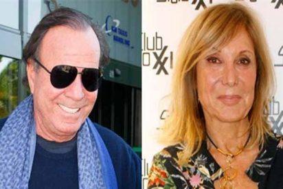 'Telecinco': Jordi González deja en cueros a Pilar Eyre al destapar su 'folleteo' con Julio Iglesias