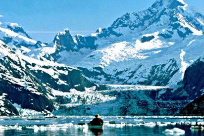 ¿Sabías que el calor fundió en 4 días la nieve del invierno en un glaciar de Alaska?
