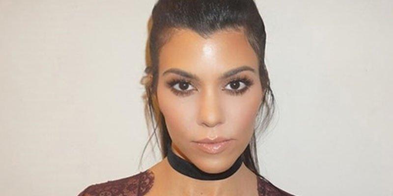 Kourtney Kardashian ahora es novia de un modelo 19 años menor que ella