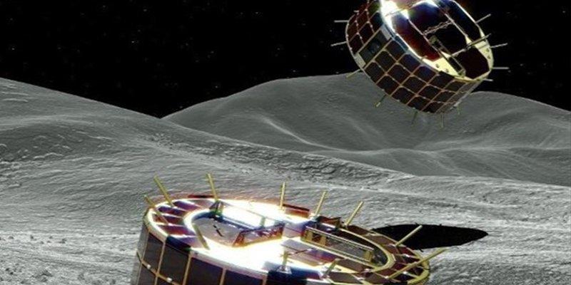La nave Hayabusa 2 de Japón lanza dos rover sobre el asteroide Ryugu
