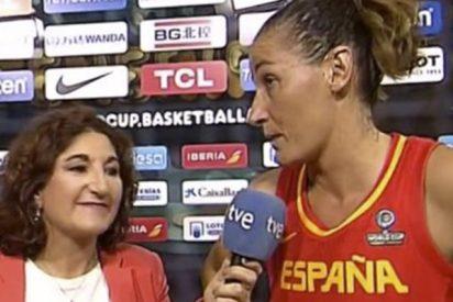 Cachondeo con esta entrevista a Laia Palau en 'Teledeporte'
