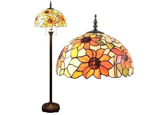 Lámpara de pie estilo Tiffany