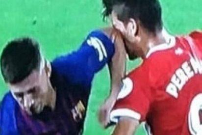 El 'zasca' histórico al Barça por la sucia agresión de Lenglet