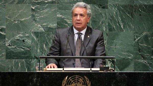 """Lenín Moreno desvela que """"los niños venezolanos llegan a Ecuador con sarampión, difteria y poliomielitis"""""""