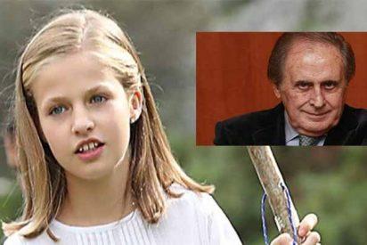 Jaime Peñafiel amarga el final del verano a la Casa Real atacando ahora a la Princesa Leonor
