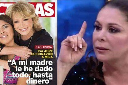 """Chabelita Pantoja: """"Yo lo he pasado muy mal y a mi madre le he dado todo, hasta dinero"""""""