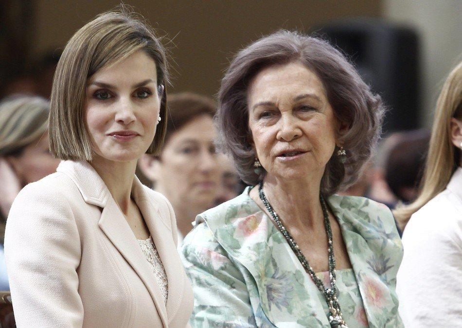Doña Sofía conmociona a la Familia y Casa Real con su acción contra la Reina Letizia
