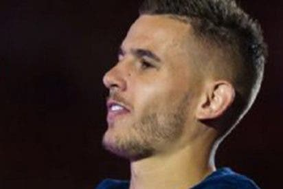 Lucas Hernández del Atlético Madrid fue hospitalizado antes de enfrentarse al Eibar