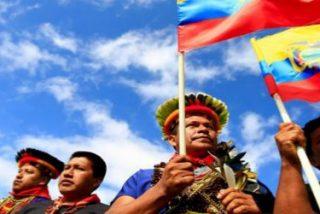 """Organizaciones indígenas ecuatorianas afean a la """"Iglesia tradicional"""" su falta de """"acercamiento"""""""
