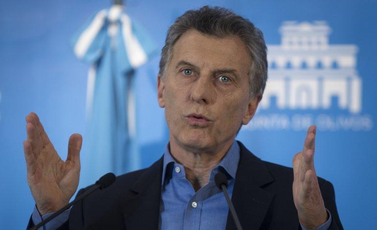 Mauricio Macri, imputado por pedir el rescate de Argentina al FMI