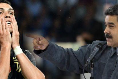 Venezuela: El tirano Nicolás Maduro ataca ataca ahora al futbolista Cristiano Ronaldo