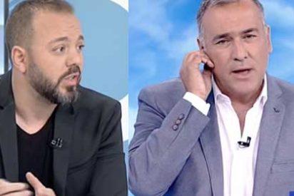 El asalto de PSOE y Podemos a RTVE era esto: Fortes sienta en su plató al 'chequista' Antonio Maestre