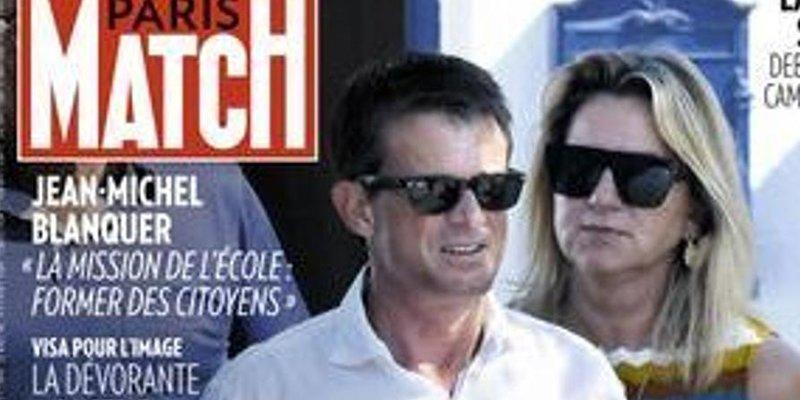 El exprimer ministro Manuel Valls denuncia a 'Paris Match' por sacarle fotos con su pareja en la playa