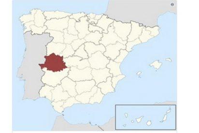 Cachondeo por las respuestas a un juego con este mapa de España… todo empezó con un chiste sobre Cáceres