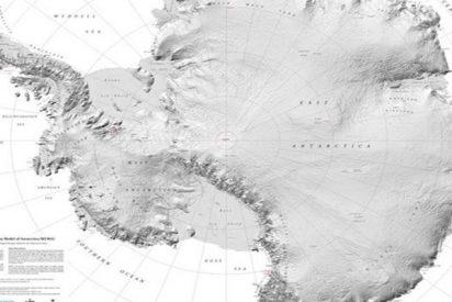 El mejor mapa topográfico de la Tierra es el de la Antártida