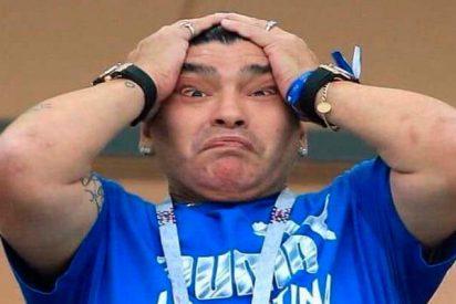 Enfado de Maradona tras su primera derrota con los Dorados de Sinaloa