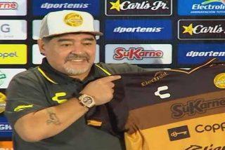 VÍDEO: La 'ofensiva' canción dedicada a Maradona