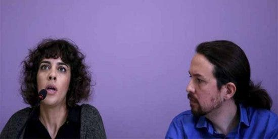 Alexandra Fernández, diputada de Podemos, se harta y arremete contra sus compinches 'traidores'
