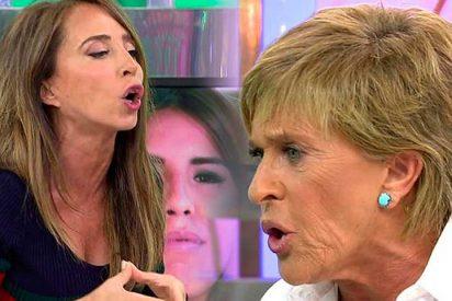 """María Patiño humilla a Chelo Gª Cortés: """"Isabel Pantoja te trata como a una empleada del hogar"""""""