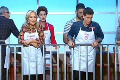 Jordi Cruz le echa la bronca a Antonia Dell'Atte en el estreno de «MasterChef Celebrity»