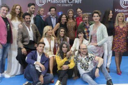 Descubra el mal rollo que hay entre los concursantes de 'Masterchef Celebrity 3' tras las cámaras