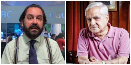 Ramón Pérez-Maura, tras destrozar a Juan Cruz, le pasa factura a ex compañeros de ABC y COPE por la tesis de Sánchez