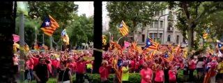 El vecino con un par que rompe la Diada poniendo el himno de España a todo trapo