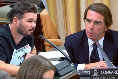 La vergonzosa foto que hunde del todo al hipócrita de Rufián por utilizar a José Couso