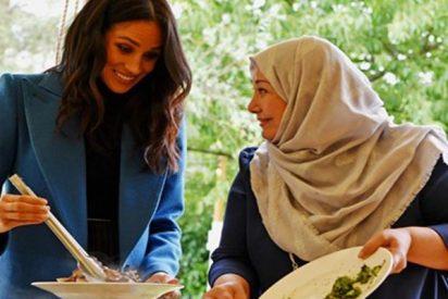 Meghan Markle se pone a cocinar en los jardines de Kensington en compañía de su madre