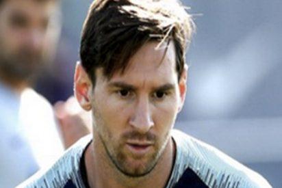 Messi se corta la barba dos años después