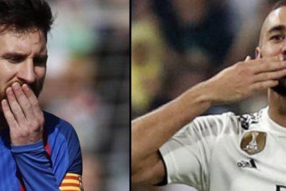¿Sabes por qué Benzema es mucho más decisivo que Messi en la Liga?