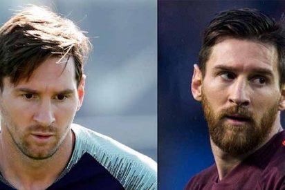 Leo Messi estrena nuevo 'look' dos años después