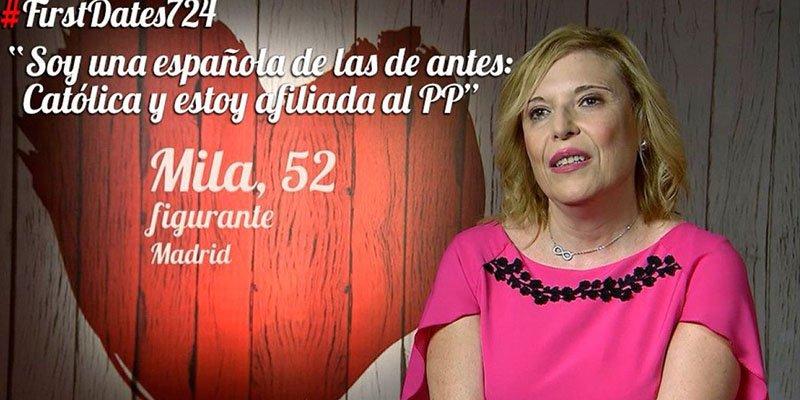 """'First Dates': junta a un independentista con una """"española como las de antes, católica y del PP"""""""