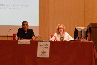 Miriam Cortés explica las reformas legislativas de las normas generales de la Iglesia