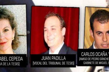 'La Tesis de Sánchez': Un miembro del tribunal y la jefa de su doctorado escribieron un capítulo con el plagiario