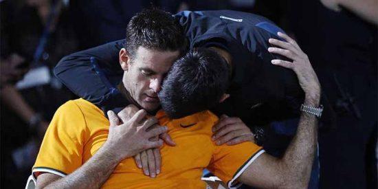 El argentino Del Potro revela qué le susurró al oído Djokovic tras la final del US Open