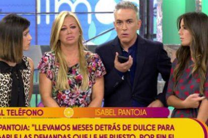 ¿Qué colaboradora de 'Sálvame' ha sido la única en tener las narices de enfrentarse a Isabel Pantoja? ¿Por qué los demás son tan cobardes?