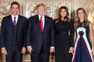 Ridículo internacional de Begoña Gómez por su petición a los Trump y la bronca de la Casa Blanca
