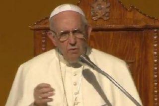 """El Papa pide """"amor evangélico y solidaridad fraterna"""" frente al """"subdesarrollo social"""" que sufre Sicilia"""