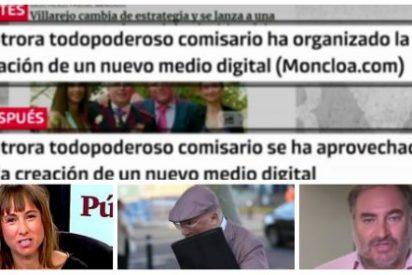 El patinazo de 'Público Today': afirma que Villarejo está detrás de Moncloa.com y tiene que rectificar