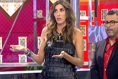 'Telecinco': Paz Padilla se quiere merendar a Jorge Javier y ya ni disimula