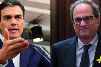 El donativo del devoto Sánchez a la cruzada catalana: 1.459 millones para inversiones y los Mossos