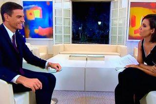 El mensaje secreto de Pedro Sánchez en su ropa durante su descolorida entrevista con Ana Pastor